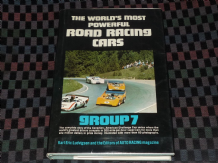 WORLD'S MOST POWERFUL ROAD-RACING CARS : GROUP 7 (Ludvigsen 1973 2nd ed)